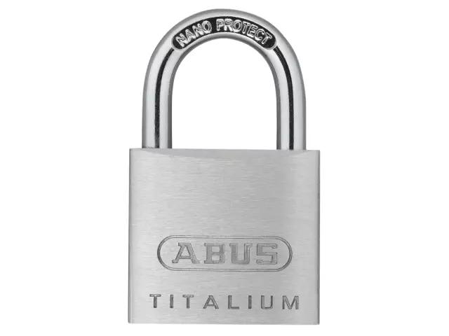 ABUS 64TI/30 TITALIUM PADLOCK 30MM - 563638