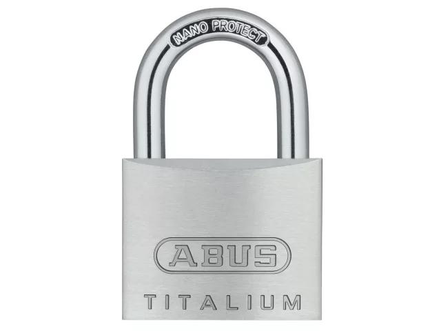 ABUS 64TI/40 TITALIUM PADLOCK 40MM TWIN PACK - 563782