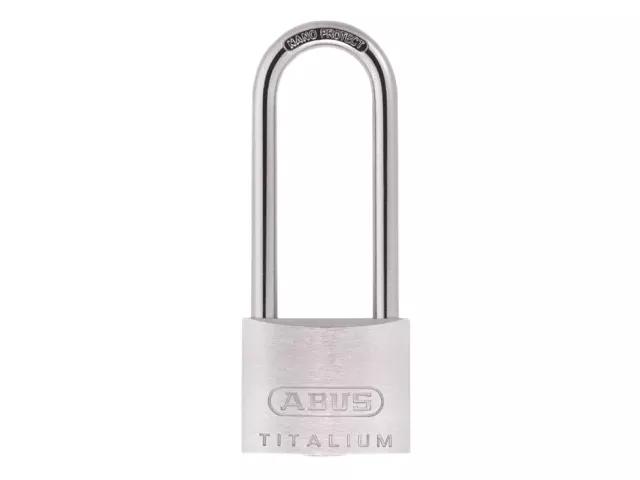 ABUS 64TI/50HB80 TITALIUM PADLOCK 50MM X 80MM - 563829