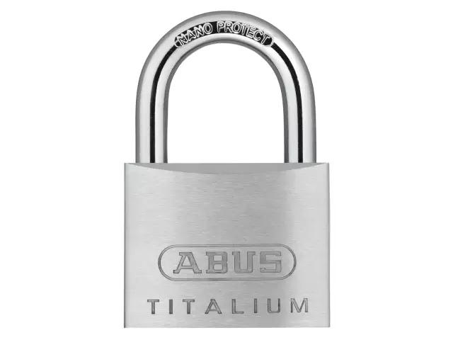 ABUS 64TI/50 TITALIUM PADLOCK 50MM - 563669