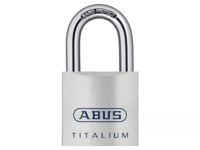 ABUS 80TI/50 TITALIUM PADLOCK 50MM - 565748