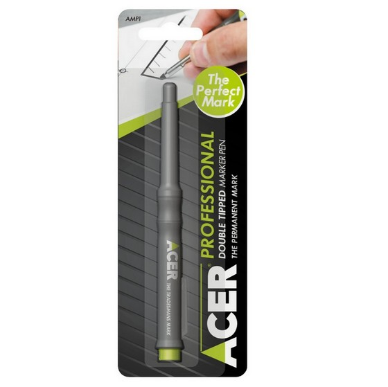 ACER DOUBLE TIPPED PERMANENT  MARKER PEN - AMP1