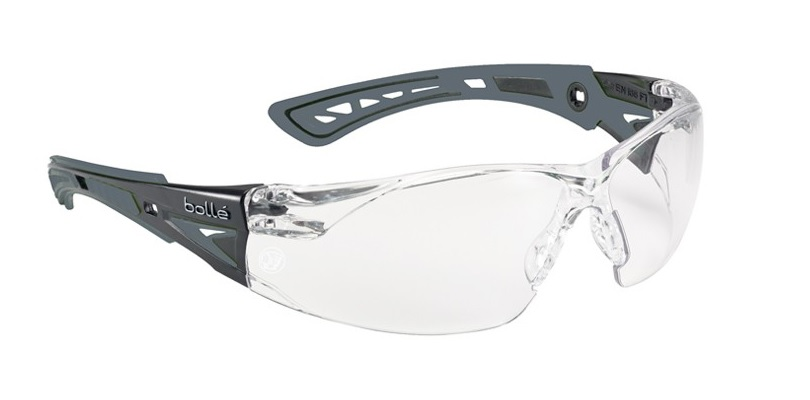 Apache Bolle Rush+ Clear Safety Glasses - Aprushclear