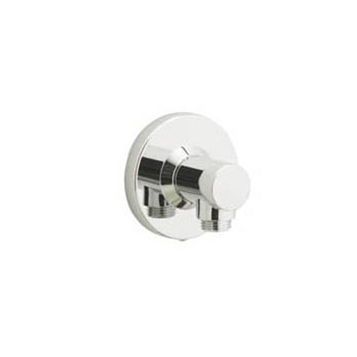 AQUALISA AXIS/ISYS DIGITAL WALL OUTLET CHROME 254806