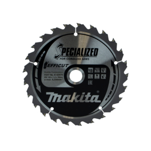 Makita 165mm Plunge Saw Blade DSP600 Efficut 165mm x 20mm x 25 Teeth