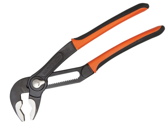 Bahco Quick Adjust Slip Joint Pliers 250mm - 61mm Capacity