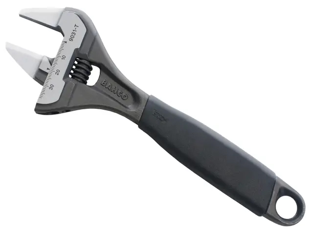 BAHCO 9031T ERGO SLIM JAW ADJUSTABLE WRENCH 200MM (8IN)