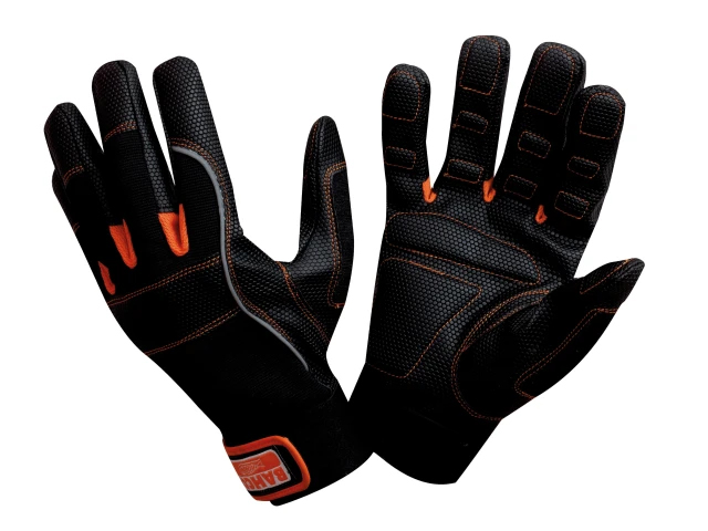 BAHCO POWER TOOL PADDED PALM GLOVES MEDIUM (SIZE 8)