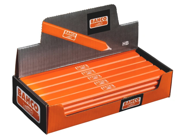 BAHCO P-HB GRADE CARPENTER'S PENCILS (BOX 25)