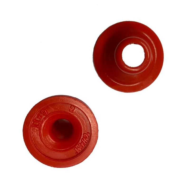 3/16In LP low Pressure Red Nylon Ballvalve Seat
