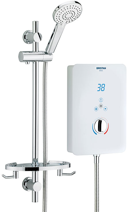 Bristan Bliss 10.5Kw Electric Shower White
