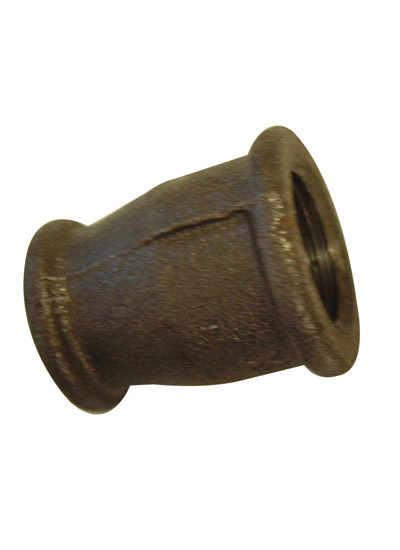 "BLACK MALLEABLE IRON REDUCING SOCKET 2"" X 1"" BSP"