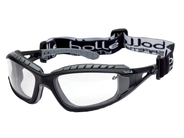 BOLLE TRACKER PLATINUM SAFETY GOOGLES VENTED CLEAR - TRACPSI