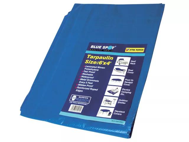 BLUE SPOT TARPAULIN 1.8M X 1.2M (6FT X 4FT) - 45921