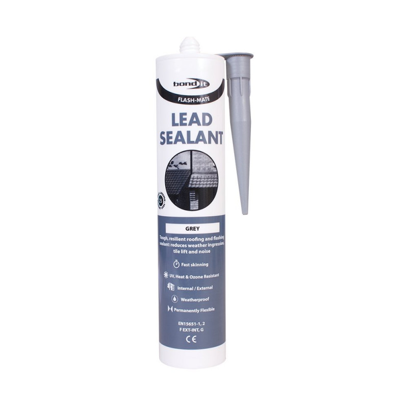Bond-It Flash-Mate Lead Sealant Fast Skinning EU3 - Grey