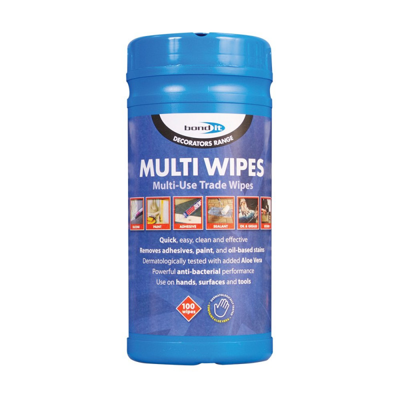 BOND IT MULTI-WIPES HAND WIPES X 100 BDHW80