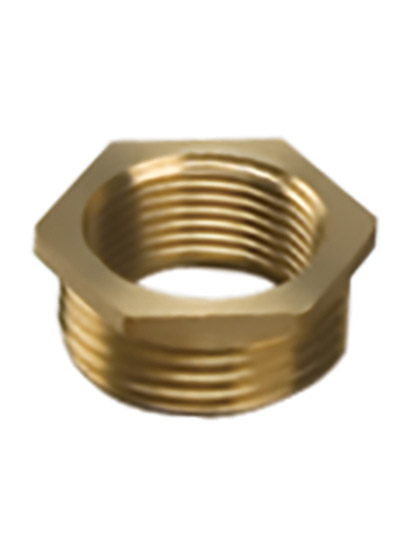 "BRASS REDUCING BUSH 1/4"" x 1/8"" BSP"