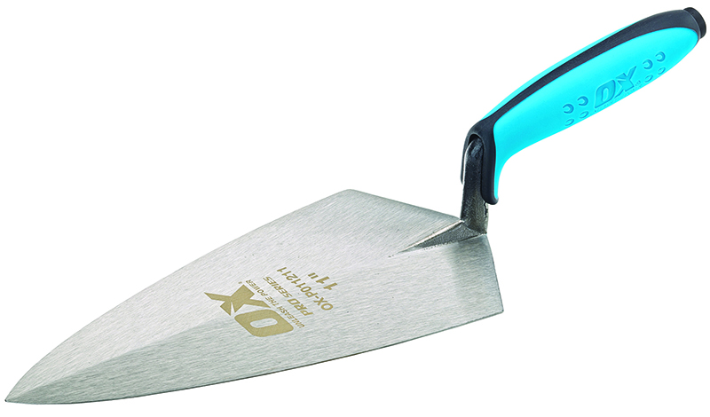 "OX PRO BRICK TROWEL PHILADELPHIA PATTERN - 11"" / 280MM"