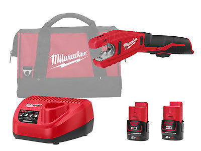 Milwaukee C12PC 12V Sub Compact Copper Pipe Cutter 12mm to 28mm - 2.0Ah Pack