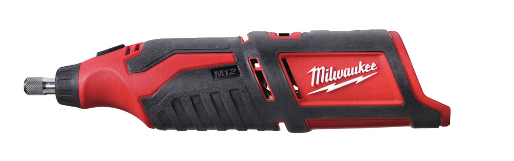 Milwaukee C12RT 12V Rotary Tool Brushed Sub Compact - Body Only