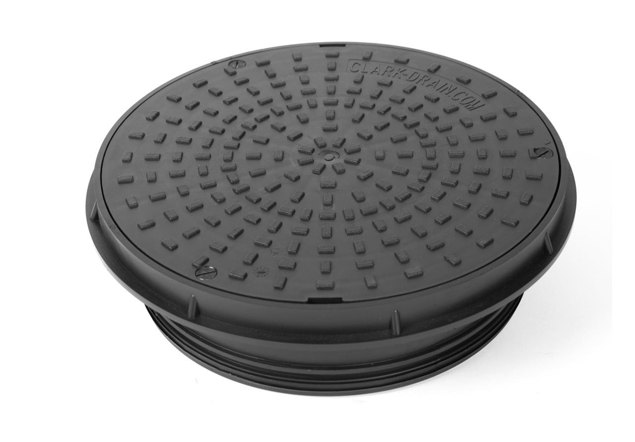 Clark Drain CD352 300mm Diameter Circular Cover and Frame
