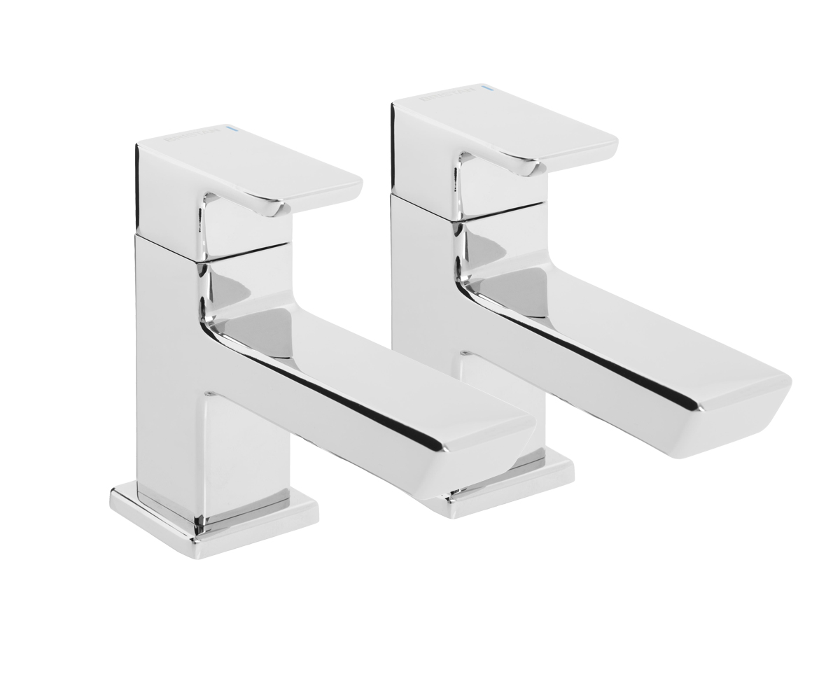 BRISTAN COBALT BASIN TAPS CHROME