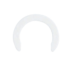 SPEEDFIT COLLET LOCKING CLIP WHITE 15MM - CM1815W