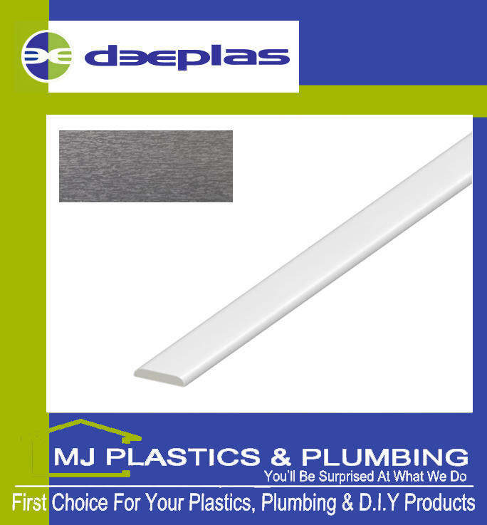Deeplas D Mould 30mm - Anthracite Grey 1072