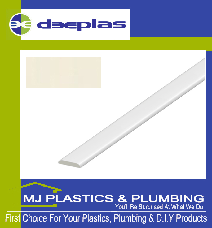 Deeplas D Mould 30mm - Cream 1096