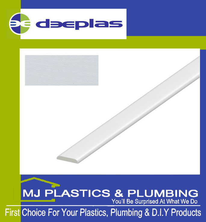 Deeplas D Mould 30mm - White Ash 1019