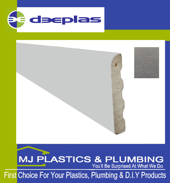 Deeplas Castellated Architrave 40mm x 6mm - Anthracite Grey 1072
