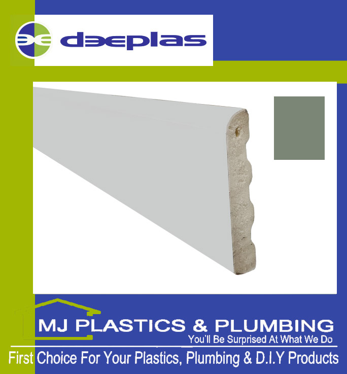 Deeplas Castellated Architrave 40mm x 6mm - Chartwell Green 1113