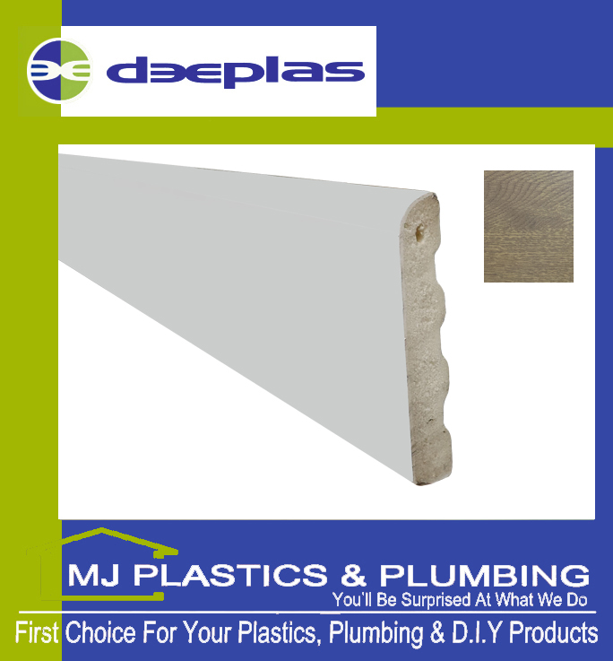Deeplas Castellated Architrave 40mm x 6mm - Golden Oak 1110