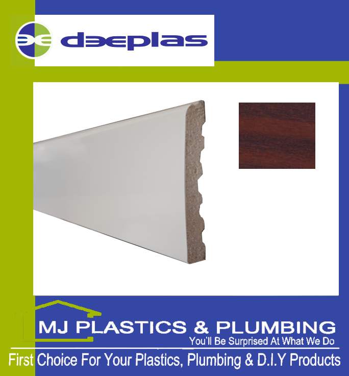 60MM X 6MM ARCHITRAVE - MAHOGANY