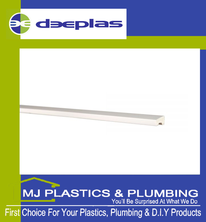 Deeplas Foam Bead 20mm x 15mm - Deeplas White 0003