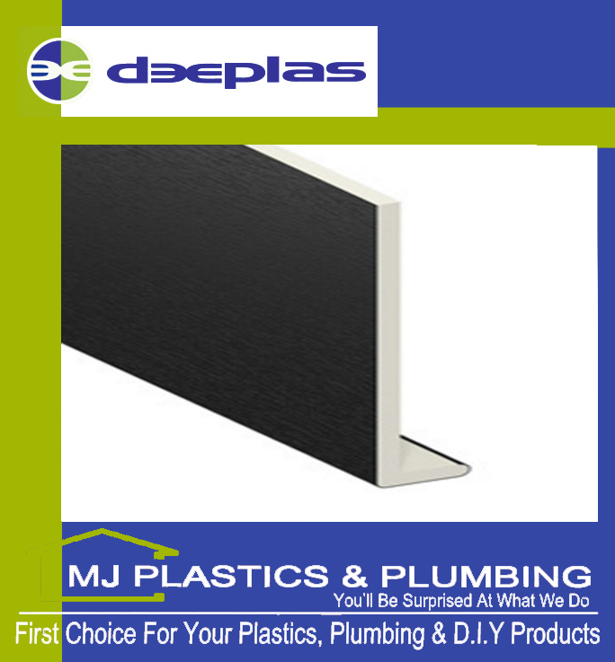 DEEPLAS 150MM CAPPING BOARD SQUARE EDGE ANTHRACITE GREY