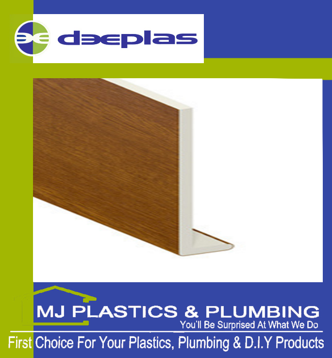 DEEPLAS 200MM CAPPING BOARD SQUARE EDGE GOLDEN OAK