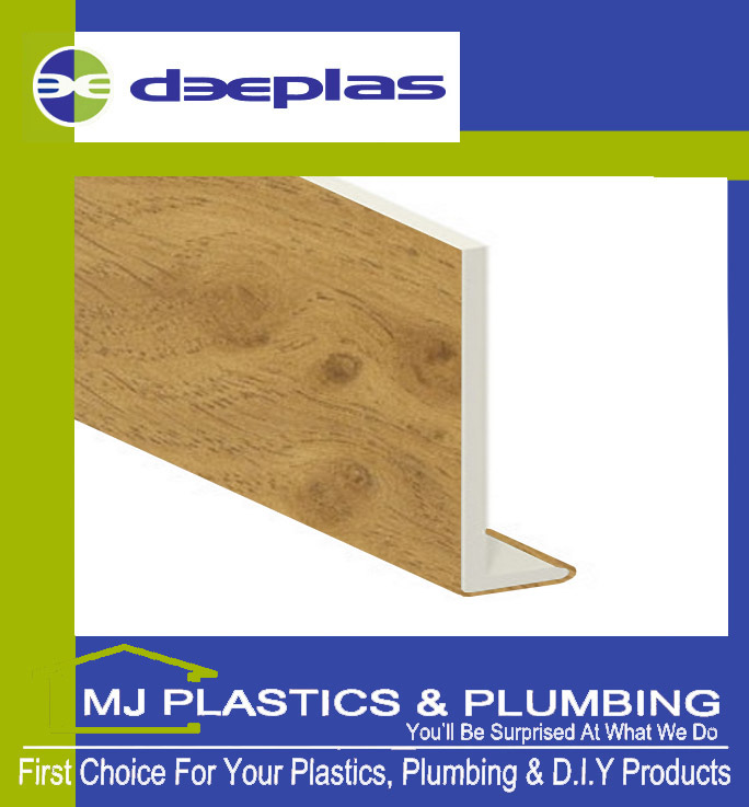 DEEPLAS 175MM CAPPING BOARD SQUARE EDGE IRISH OAK