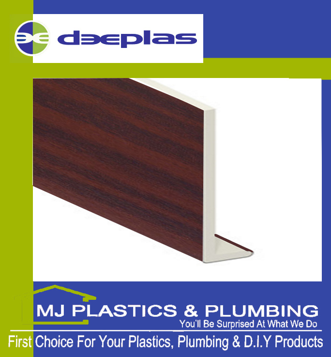 200MM SQUARE EDGE CAPPING BOARD MAHOGANY