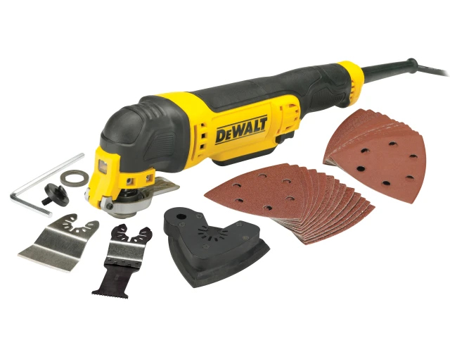 DEWALT - 300W MULTI-TOOL WITH ACCESSORIES - TSCADWE315B