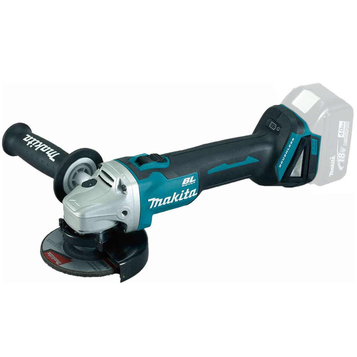 MAKITA 18V BRUSHLESS 115MM ANGLE GRINDER LXT - DGA454 - BODY ONLY