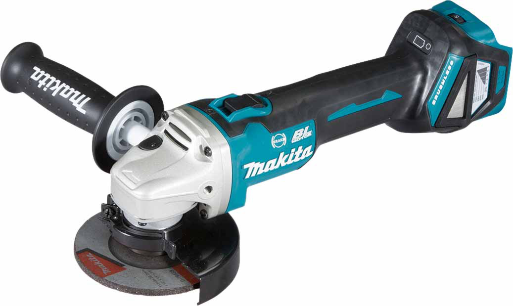 Makita DGA463 18V Brushless 115mm Angle Grinder LXT - Body Only