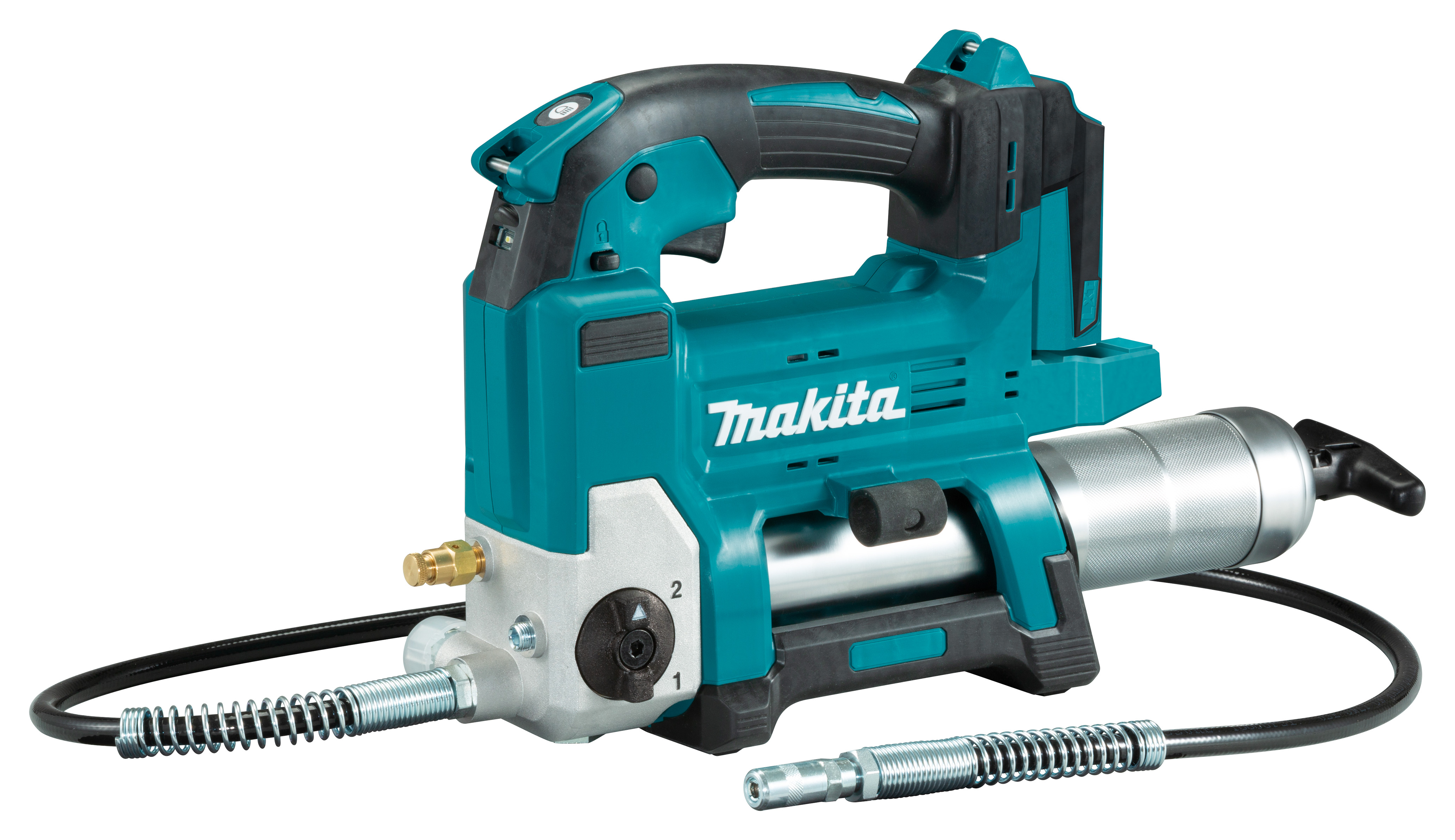 Makita DGP180Z 18V LXT Cordless Grease Gun with 1200mm Hose - Body Only