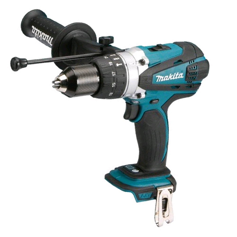 Makita DHP458 18V Brushed Compact Combi Drill LXT - Body Only