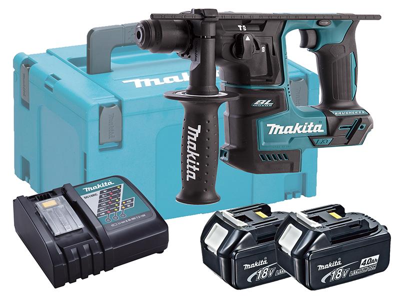 Makita 18V Brushless Rotary Hammer Drill 17mm - DHR171 - 4.0Ah Pack