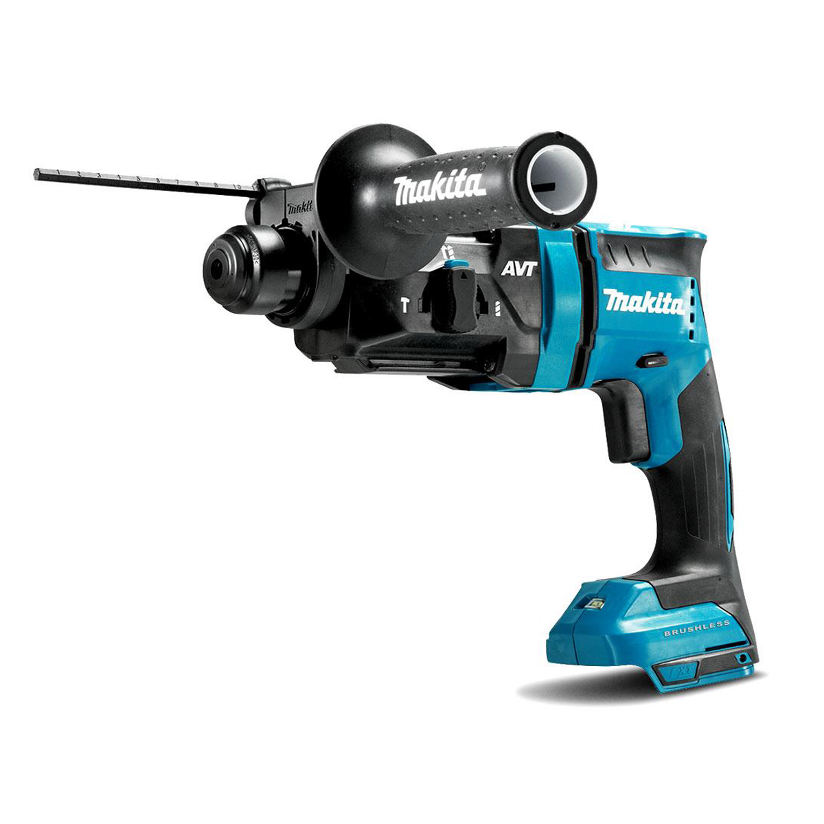 MAKITA 18V BRUSHLESS 3-MODE SDS+ HAMMER DRILL - DHR182 - BODY ONLY