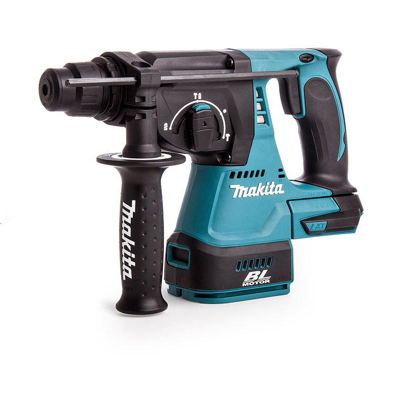 MAKITA 18V BRUSHLESS 3-MODE SDS+ HAMMER DRILL - DHR242 - BODY ONLY