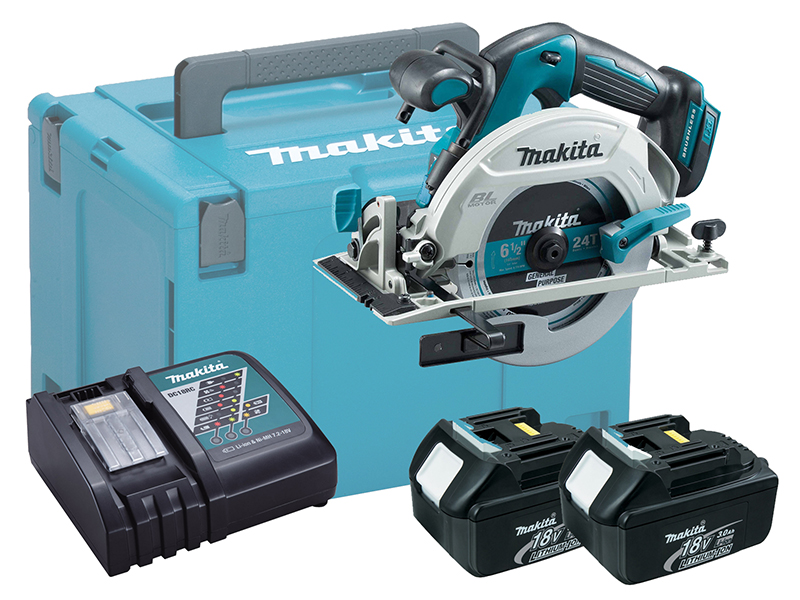 Makita DHS680 18V Brushless 165mm Circular Saw LXT - 3.0ah Kit