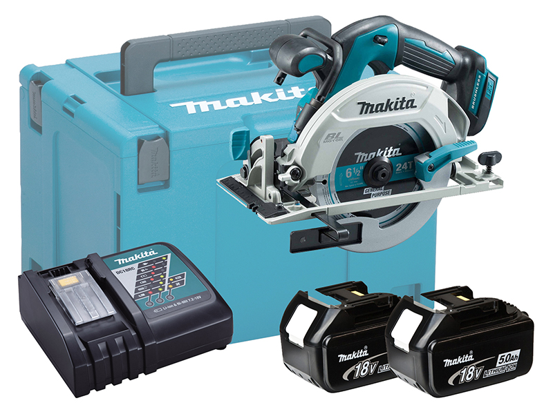 Makita DHS680 18V Brushless 165mm Circular Saw LXT - 5.0ah Kit