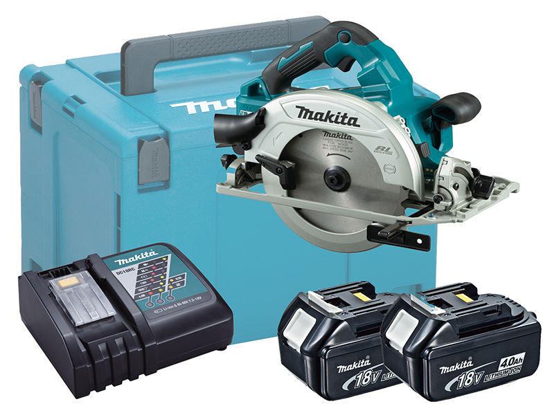 Makita DHS782 36V (Twin 18V) LXT 190mm Brushless Circular Saw - 4.0ah Pack